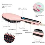 Catok Sisir Pelurus Rambut Fast Hair Straightener Hqt906 Pink Murah