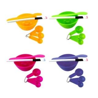 CDS Meiyiting 4 In 1 Alat Untuk Maskeran Mangkok Masker Tempat Masker - Random Color thumbnail