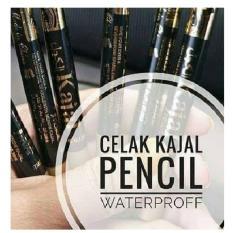 Spesifikasi Celak Kajal Pensil Waterproof Ada Rautan 2 Pcs Kajal