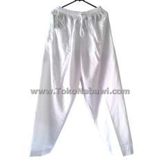 Celana Pangsi Panjang Putih Haji Umroh