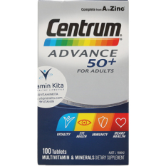Spesifikasi Centrum Advance 50 For *D*Lt 100Tab Online
