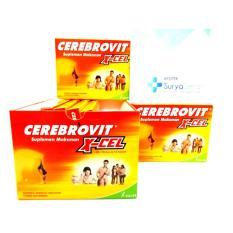CEREBROVIT X-CEL isi 10 kapsul untuk Nutrisi Otak Remaja Excellent