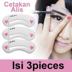 Cetakan Alis Mini Blow Class / Alat Cetak Alis / Eyebrow Template (isi 3 pcs)