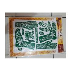 Cetakan Henna Set Tangan Dan Kaki
