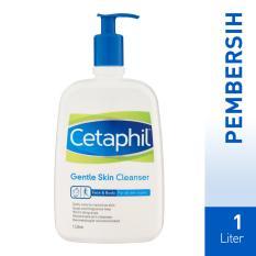 Jual Cetaphil Gentle Skin Cleanser 1 Litre Exp Date Januari 2019 Baru