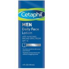 Cetaphil Men Daily Face Lotion Spf15 118Ml Diskon Akhir Tahun