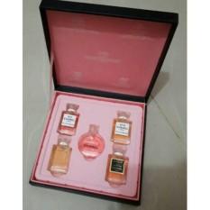 Chat Owner Parfum Miniatur Chanel Gift Set Isi 5 Pcs Multi Diskon 50