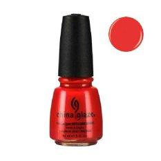 Spesifikasi China Glaze Nail Lacquer Aztec Orange Merk China Glaze