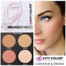 Beli City Color Contour Define Palette 4 Shades Pakai Kartu Kredit