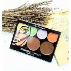 Review Toko City Color Contour And Correct Cream Palette