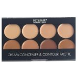 Ulasan City Color Cream Concealer Contour Palette