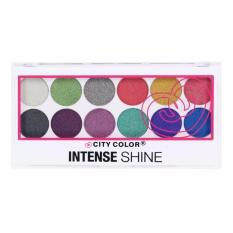Harga City Color Intense Shine Eye Shadow Palette Merk City Color
