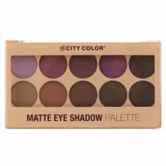 Jual City Color Matte Eyeshadow Palette City Color Ori