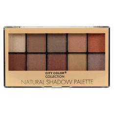 Promo City Color Natural Eyeshadow Palette Akhir Tahun