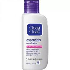 Dapatkan Segera Clean Clear Essential Moisturizer 50Ml