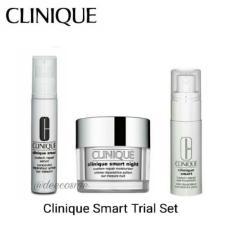 Spesifikasi Clinique Smart Trial Set 3 Item Murah