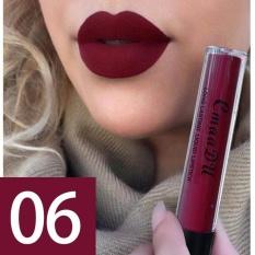 CmaaDu Matte Liquid Lip Gloss Tahan Lama Pelembab Logam Lipstik Kosmetik 6 #-Intl