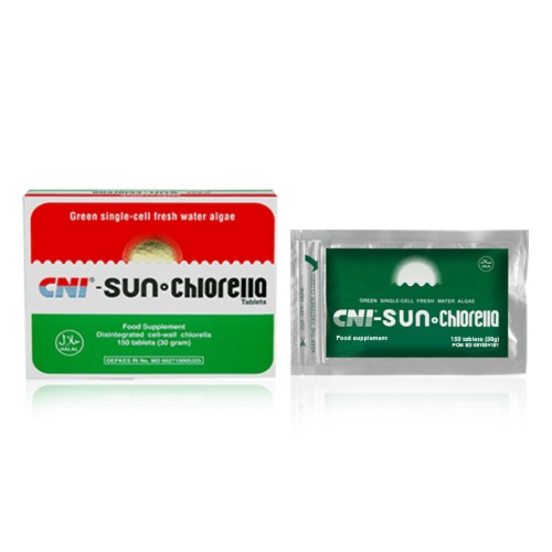 Pencarian Termurah CNI Sun Chlorella 300 Tablet | Agen Grosir Crypto Force Spirulina Pacifica Elken Green