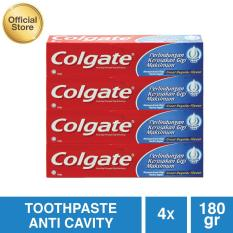 Colgate Maximum Cavity Protection Great Regular Flavor Toothpaste/Pasta Gigi 180g - 4 pcs