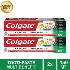 Diskon Besarcolgate Total Charcoal Gel 150Gr 2 Pcs