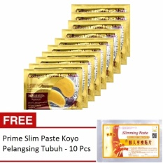 Collagen Crystal Eye Mask / Masker Mata - 10 Pcs + Gratis Prime Slim Paste Koyo Pelangsing Tubuh - 10 Pcs