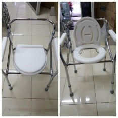 Commode Chair - Kursi Tempat BAB - Deluxe Commode Chair - Pispot BAB TERLARIS