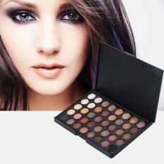 Kosmetik Matte Eyeshadow Cream Eye Shadow Makeup Palet Shimmer Mengatur 40 Warna-Intl