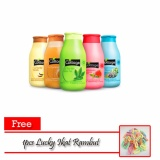 Jual Cottage Paket Shower Gel Mini 50Ml 6 Botol Free 1Pcs Lucky Ikat Rambut Termurah