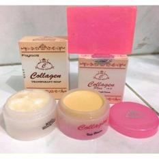 Jual Cream Collagen Siang Dan Malam Plus Sabun Collagen Branded Original