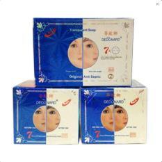 Cream Deoonard Original Blue 7 Days 25gr - Paket Krim Deonard Asli Sabun Anti Septic