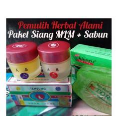 Promo Cream Pencerah Wajah Pemutih Muka Tensung Whitening Super Cepat Original 100 Di Indonesia