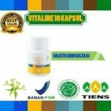 Jual Cream Penghilang Jerawat Herbal Alami Vitaline Softgel Tiens 10 Kapsul Branded Murah