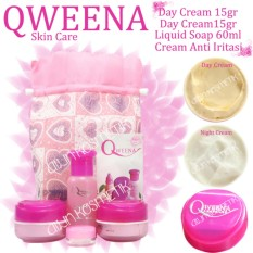 CREAM QWEENA NEW PACKING ORIGINAL