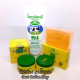 Jual Cream Temulawak Siang Malam Original Hologram Dan Sabun Plus Temulawak Milk Cleanser Whitening South Sumatra