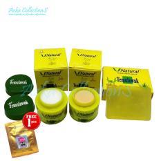 Cream Temulawak V Natural Original PT Dutry - Plus sabun