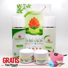 Review Cream Theraskin Paket Flek Parah Hanya Di Titik Tertentu Saja Kt 002 Gratis Pouch Theraskin Di Jawa Barat