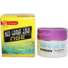 Cream Wajah New Gamat Emas NGE Day & Night - BPOM