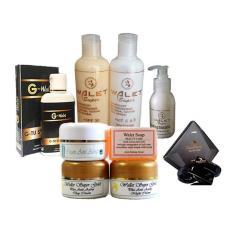 Diskon Cream Walet Gold 1 Paket Cream Malam Day Anti Aging Body Lotion Sabun Black Walet Shampoo Bleaching Walet