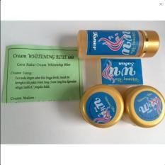 Cream WB Gold Pencerah Wajah -Whitening Blue Gold 4in1