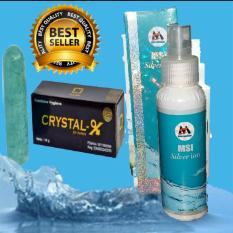 Toko Cristal X Ori Bisa Scan Qr Barcode Msi Ion Silver Spray 1Botol Original Termurah Bali