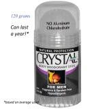 Review Pada Crystal Body Deodorant Mineral Salt Deodorant For Man 120 Grams