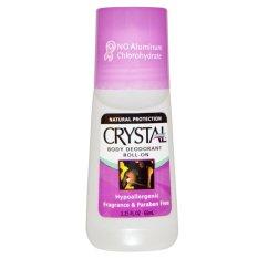 Promo Crystal Body Deodorant Mineral Salt Deodorant Roll On 66 Ml Unscented Tidak Beraroma Riau Islands