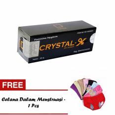 Berapa Harga Crystal X Nasa Original Solusi Masalah Kewanitaan Free Celana Dalam Menstruasi 1 Pcs Crystal Di Sulawesi Selatan