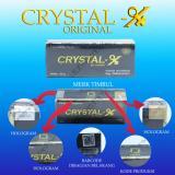 Beli Crystal X Cristal X Kristal X Cx Ori 100 No Seri Berbeda 1 Dgn Yg Lain Online Murah