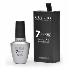 Harga Cuccio Nail Solution Super 7 Second Reactive Top Coat New