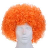 Harga Keriting Wig Afro Multi Warna Funky Disko Pria Wanita Pesta Badut Kostum Terbaik