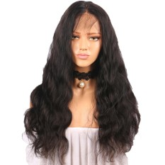 Curly Wig Glueless Full Lace Wigs Black Women Indian Remy Human Hair Lace Front coconie - intl