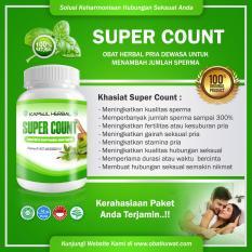 Jual Beli Cv Karya Abadi Super Count Obat Herbal Meningkatkan Kesuburan Pria Penambah Sperma
