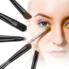 Situs Review Cyber Acevivi Baru Fashion Profesional 5 Pcs Kosmetik Alat Makeup Brush Set Kit Dengan Paduan Kolom Hitam Intl