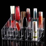 Dapatkan Segera Dapurbunda Rak Tempat Lipstik Kosmetik 24 Grid Acrylic Lipstick Organizer Large 24 Sekat